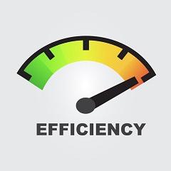 efficiency-gauge