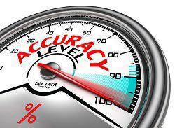 Accuracy-meter