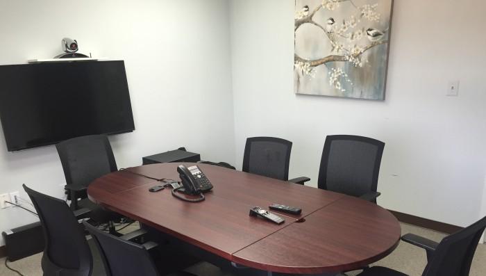 Casamo Fairfax Court Reporter conference room