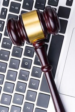 Keyboard-and-gavel