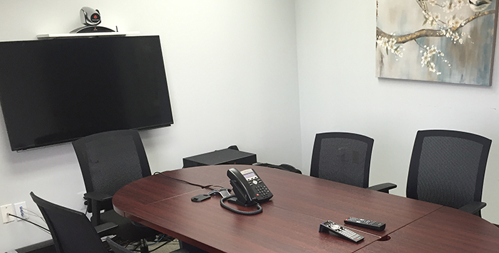 Videoconferencing room in Fairfax Virginia