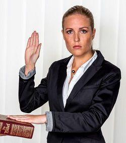 Witness-under-oath