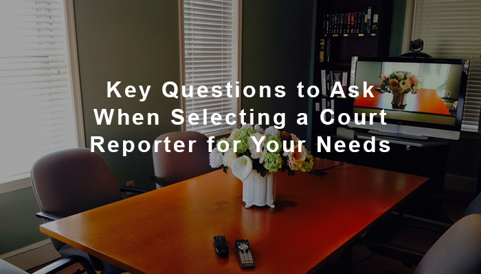 how to select a virginia court reporter