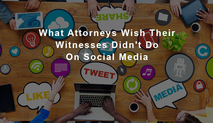 What Attorneys With Their Witnesses Didn't Do On Social Media