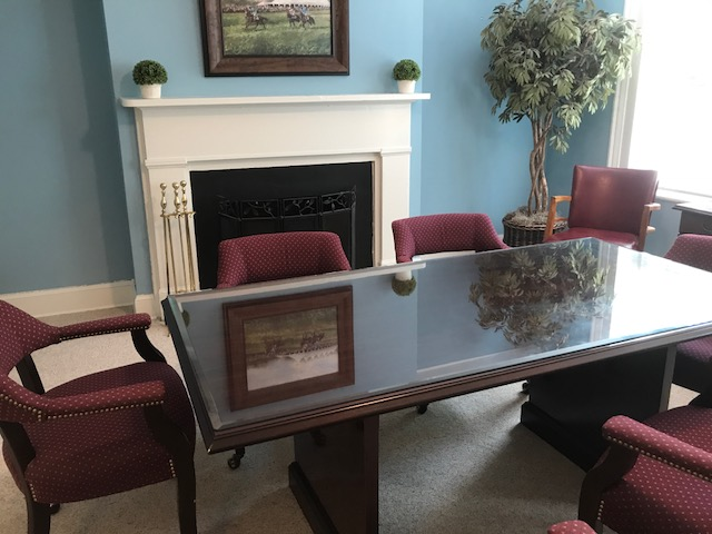 Warrenton VA court reporter conference room
