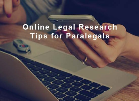 Online Legal Research Tips for Paralegals